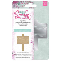 Natures Garden Fairy Garden Metal Die - Sign Post