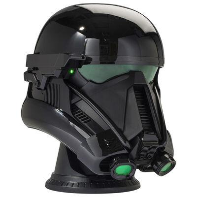 Giant Star Wars Death Trooper Helmet Bluetooth Wireless Speaker image number 1