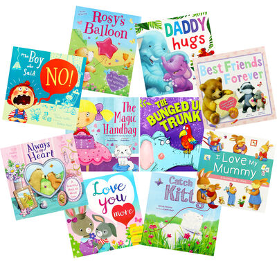 Lovely Reading: 10 Kids Picture Books Bundle image number 1