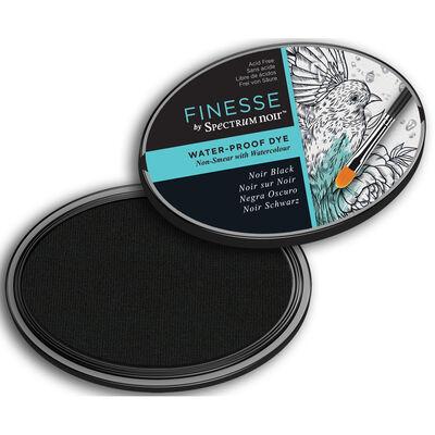 Finesse by Spectrum Noir Water Proof Dye Inkpad - Noir Black image number 3