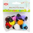 Mini Pom Pom Sheep - 10 Pack image number 1