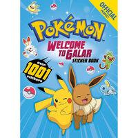 Pokémon Welcome to Galar 1001 Sticker Book