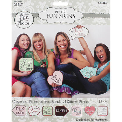 Hen Party Photo Props - Pack of 24 image number 1
