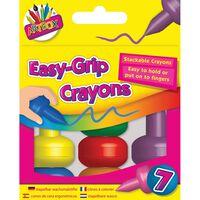 Easy-Grip Crayons Pack of 7