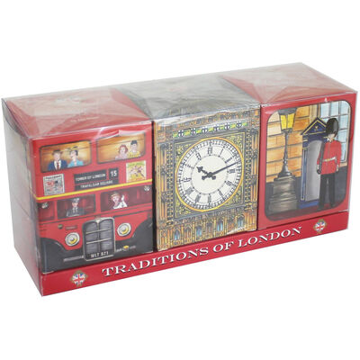 Traditions of London Travel English Tea Selection - Set of 3 image number 1