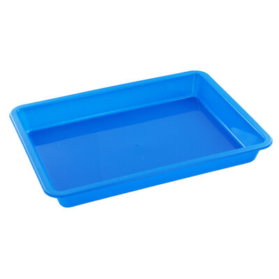 Coloured Plastic Craft Trays - 3 Pack image number 4