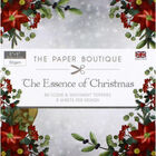 The Essence of Christmas Scene and Sentiment Toppers Pad - 5x5 Inch image number 1
