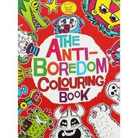 Anti-Boredom Colouring Book