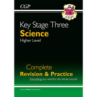 KS3 Science Complete Study & Practice: Higher Level