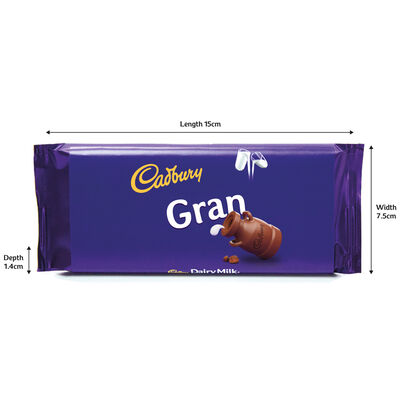 Cadbury Dairy Milk Chocolate Bar 110g - Gran image number 3