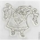 At Home with Santa - Santa - Clear Stamp image number 2