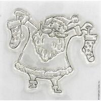 At Home with Santa - Santa - Clear Stamp