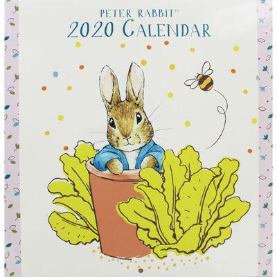 Peter Rabbit 2020 Square Calendar image number 1