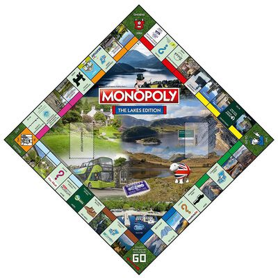 The Lakes Monopoly Board Game image number 3