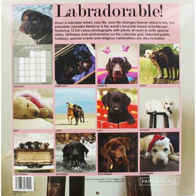 Labradorable 2020 Square Calendar image number 2
