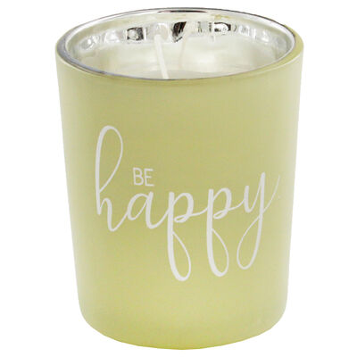Be Happy Fresh Vanilla Candle image number 3