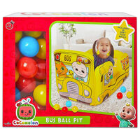 Cocomelon Inflatable Bus Ball Pit