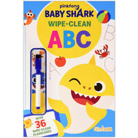 Baby Shark: Let's Learn ABC Wipe-Clean Book