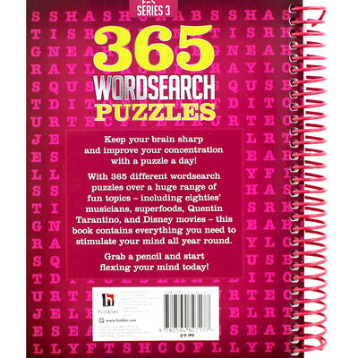 365 Wordsearch Puzzles Wiro image number 3