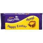 Cadbury Dairy Milk Caramel Chocolate Bar 120g – Happy Easter image number 1