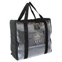 Grey Super-Soft Velvet Touch Weighted Blanket 150 x 200cm - 4kg
