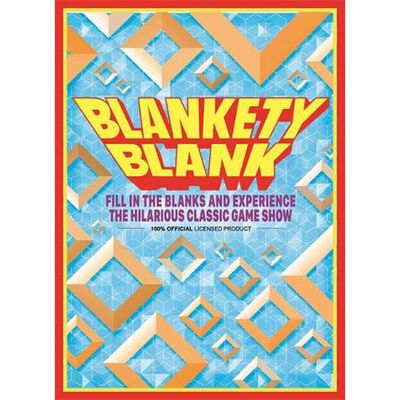 Blankety Blank Game Tin image number 1