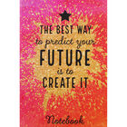 A4 Casebound Your Future Plain Notebook image number 1