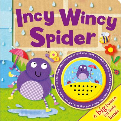 Incy Wincy Spider: Big Button Sound Book image number 1