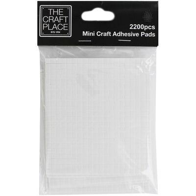 Mini Craft Adhesive Pads: Pack of 2200 image number 1