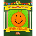 Orange Smiley Face Space Hopper image number 2