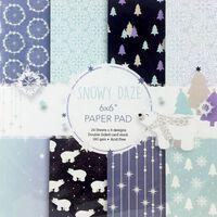 Snowy Daze Paper Pad 6 x 6 Inch