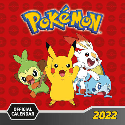 Official Pokemon 2022 Square Calendar image number 1