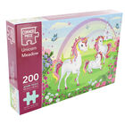 Unicorn Meadow 200 Piece Jigsaw Puzzle image number 1