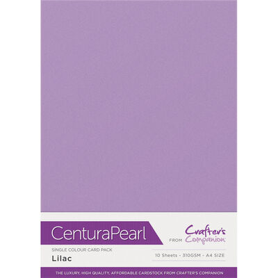 Centura Pearl A4 Lilac Card - 10 Sheet Pack image number 1