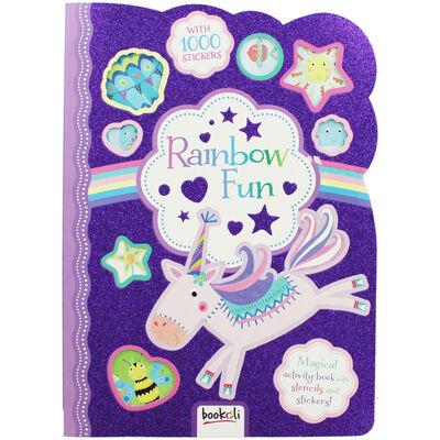 Rainbow Fun Sticker Activity Book image number 1