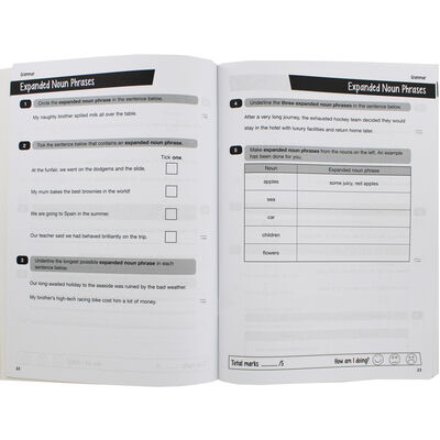 KS2 English Grammar Punctuation and Spelling SATs Question Book image number 2