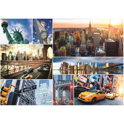 New York 4000 Piece Jigsaw Puzzle image number 2