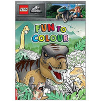 Lego Jurassic World: Fun to Colour