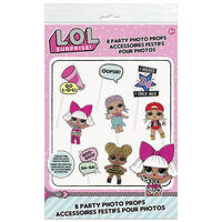 LOL Surprise Party Photo Props: Pack of 8