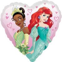 18 Inch Disney Princess Heart Helium Balloon