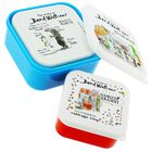 The World of David Walliams Stackable Storage Boxes: Set of 3 image number 2
