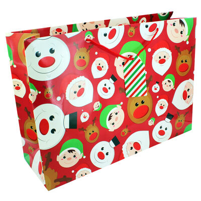 Large Christmas Gift Bag - Assorted image number 2