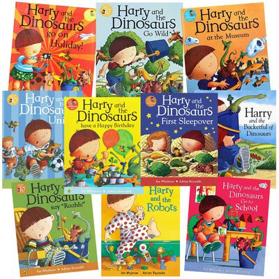 Harry and the Dinosaurs: 10 Kids Picture Books Bundle image number 1