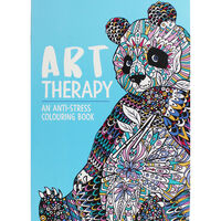 Art Therapy: Anti-Stress Colouring Book