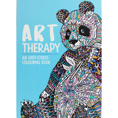 Art Therapy: Anti-Stress Colouring Book | The Works