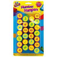 Number Stampers: Set of 26