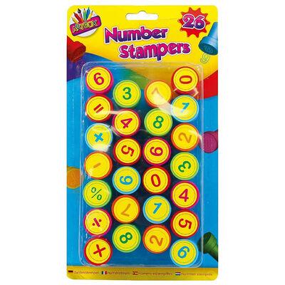 Number Stampers: Set of 26 image number 1