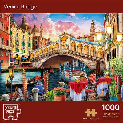 Venice Bridge 1000 Piece Jigsaw Puzzle image number 1