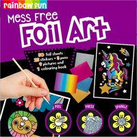Mess-Free Foil Art Set