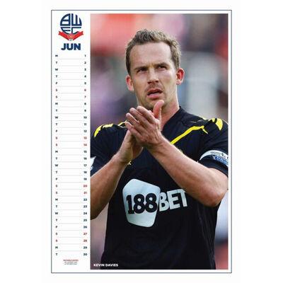 Bolton Wanderers Legends Official 2020 Calendar image number 2
